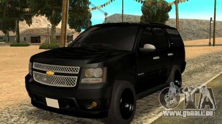 Chevrolet Tahoe Black pour GTA San Andreas