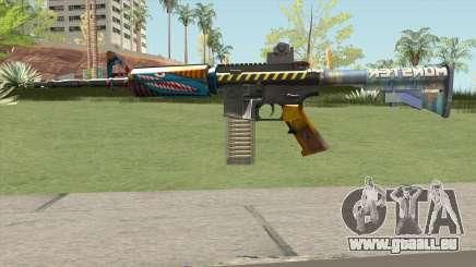 M4 (Monster Skin) pour GTA San Andreas