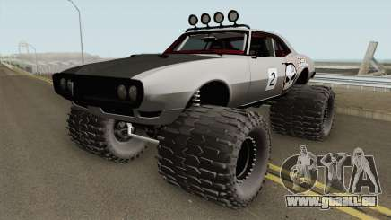 Pontiac Firebird Off Road No Fear 1968 für GTA San Andreas