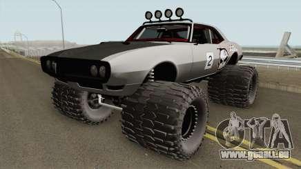 Pontiac Firebird Off Road No Fear 1968 pour GTA San Andreas