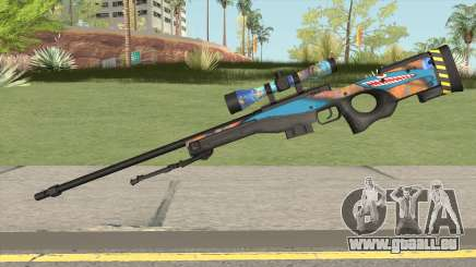 Sniper Rifle (Monster Skin) pour GTA San Andreas