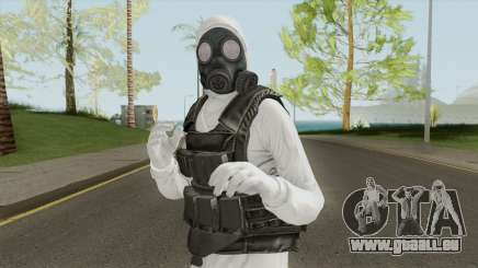 HazMat Skin White pour GTA San Andreas