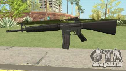 M16A2 Default Design (Ext Mag) pour GTA San Andreas