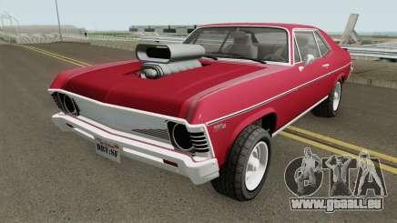Declasse Vamos GTA V (Custom Bonnet) IVF pour GTA San Andreas