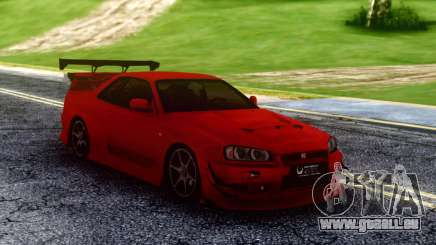 Nissan Skyline Racing für GTA San Andreas