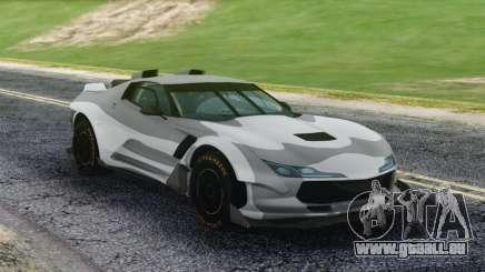 Chevrolet Corvette Sport Camo pour GTA San Andreas