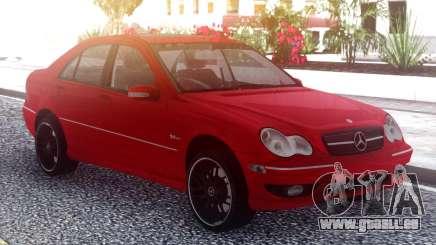 Mercedes-Benz С55 AMG W203 pour GTA San Andreas