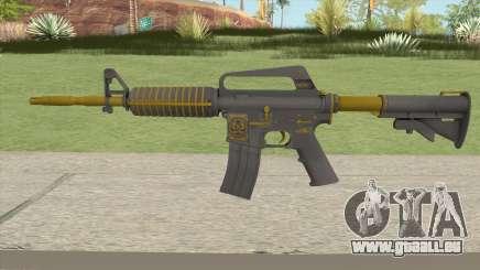 CS:GO M4A1 (Metals Skin) für GTA San Andreas