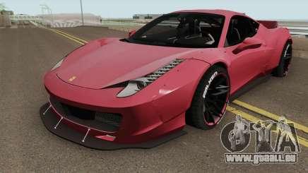 Ferrari 458 Liberty Walk HQ pour GTA San Andreas