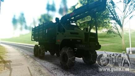 Ural Neben Dem LKW für GTA San Andreas