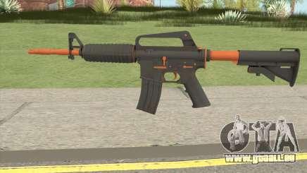 CS:GO M4A1 (Orange Accents Skin) für GTA San Andreas