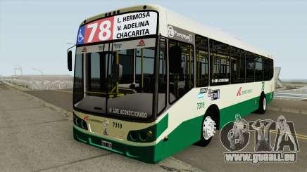 Todobus Pompeya II Agrale MT15 Linea 78 Interno pour GTA San Andreas