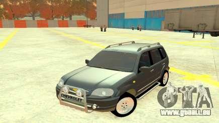 Chevrolet Niva Grey pour GTA 4