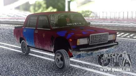 VAZ 2107 Couleur pour GTA San Andreas