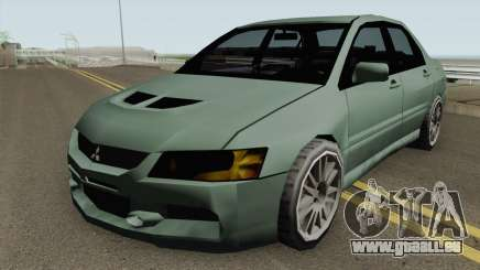 Mitsubishi Lancer Evolution IX (SA Style) pour GTA San Andreas