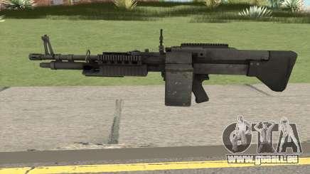 Battlefield 3 M60 pour GTA San Andreas