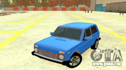 VAZ 2121 Bleu 4x4 pour GTA 4