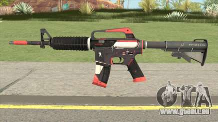CS:GO M4A1 (Cyrex Skin) für GTA San Andreas