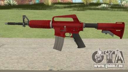 CS:GO M4A1 (Red Skin) für GTA San Andreas