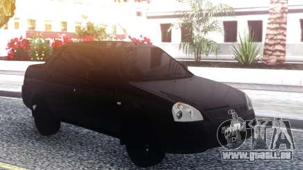 Lada Priora Black für GTA San Andreas