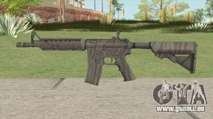 CS-GO M4A4 Faded Zebra pour GTA San Andreas