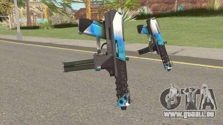 Tec-9 Enforcer V4 für GTA San Andreas
