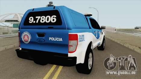 Ford Ranger 2017 CIPM pour GTA San Andreas
