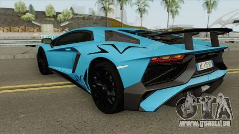 Lamborghini Aventador LP750-4 SV pour GTA San Andreas