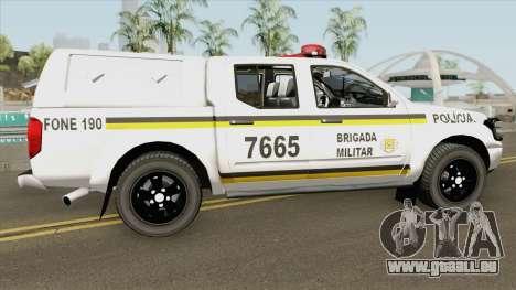 Nissan Frontier Brazilian Police (Clean) pour GTA San Andreas