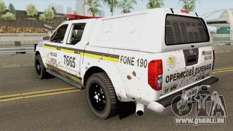 Nissan Frontier Brazilian Police (Dirty) pour GTA San Andreas