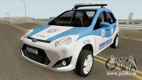 Ford Fiesta Sedan 2010 (Ronda Escolar PMBA) pour GTA San Andreas