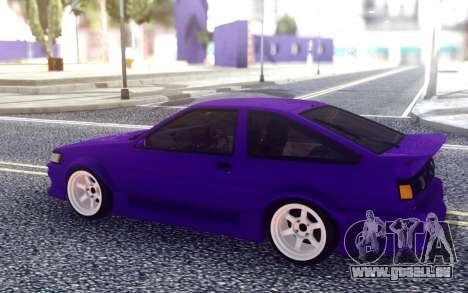 Toyota AE86 für GTA San Andreas