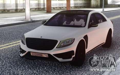 Mercedes-Benz B850 W222 pour GTA San Andreas