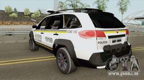 Fiat Palio Weekend - Nova Pintura pour GTA San Andreas