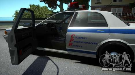 Vapid Police Cruiser pour GTA 4