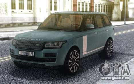 Range Rover SVA pour GTA San Andreas