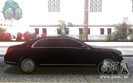 Mercedes-Benz Maybach pour GTA San Andreas