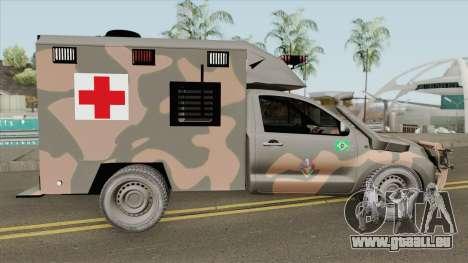 Toyota Hilux 2015 Ambulance pour GTA San Andreas