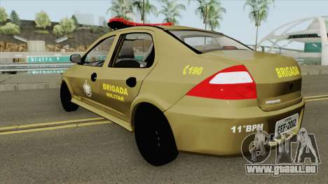 Chevrolet Prisma Brazilian Police pour GTA San Andreas