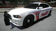 Dodge Charger Woodville Police 2014 für GTA 4