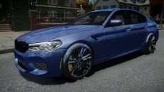 BMW M5 F90 2018 pour GTA 4