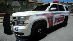 Chevrolet Tahoe Woodville Police 2015 pour GTA 4