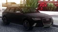 Audi RS6 Black für GTA San Andreas