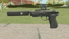 Contract Wars Beretta 92 für GTA San Andreas