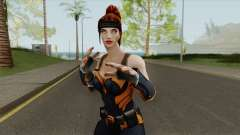 Artemis From DC Unchained pour GTA San Andreas