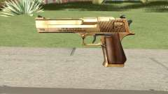 Desert Eagle Gold GTA IV pour GTA San Andreas