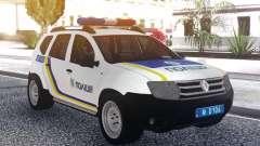 Renault Duster De La Police De L'Ukraine