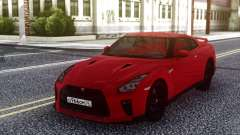 Nissan GT-R R35 Red pour GTA San Andreas