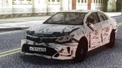 Toyota Camry 2016 Crashed für GTA San Andreas