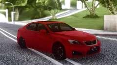 Lexus IS-F 2008-2012 pour GTA San Andreas